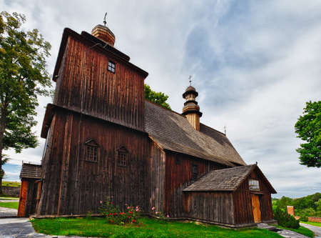 The old church of larch wood in Rabka, a resort town 60 km south of Krakow, dates back to 1606 and has been turned to a museum in 1936 photo