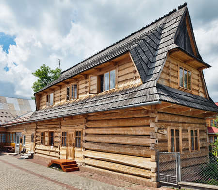 traditional house: Traditional House in the High Tatra mountains, Poland