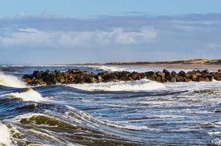 jutland: Thorsminde is a small Danish fishing harbor in Jutland, at the westcoast