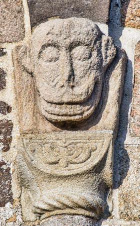 Medieval Danish church in Staby near Holstebro  Detail Stock Photo - 12774039