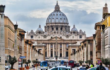 La iglesia de San Pedro, Roma Foto de archivo - 12926108