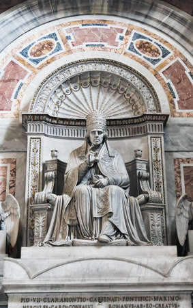 st  peter's basilica pope: Interior of St Peters basilica, Rome