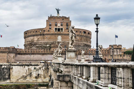 Castle of the Angels, Rome  St Angelo