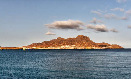 Harbour of Mindelo, Cape Verde, The Face