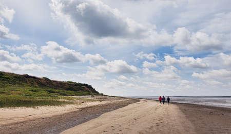 wadden: Wadden sea in Esbjerg, Denmark