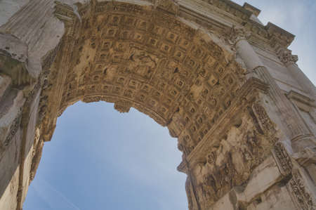 Arch of Titus, Forum Romanum, Rome, Italy photo