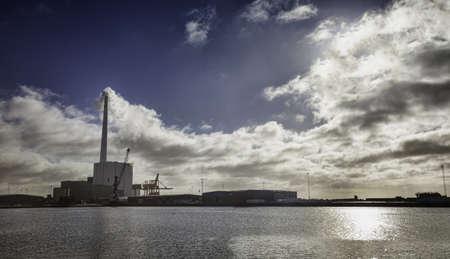 Esbjerg power plant  Vestkraft  Denmark Stock Photo - 17896548