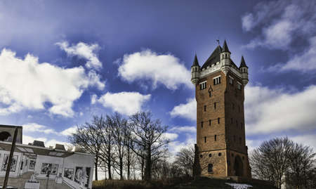 Watertower and concery house in Esbjerg, Denmark Stock Photo - 17913700