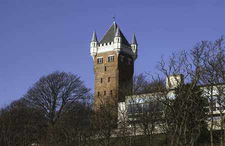 the water tower: Esbjerg, Denmark  The old water tower