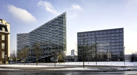 Copenhagen modern office buildings, Denmark photo