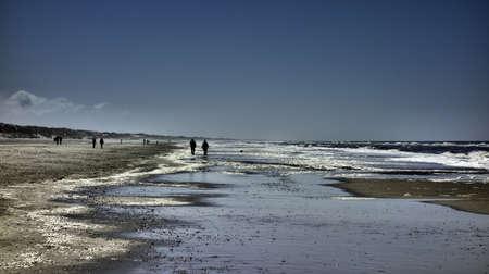 jutland: Wadden sea in Henne near Esbjerg, Denmark