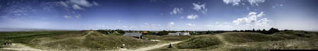 wadden sea: Panorama of the wadden sea island Mando, Denmark Stock Photo