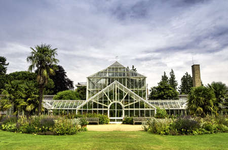 Botanic garden in Cambridge, England Stock Photo