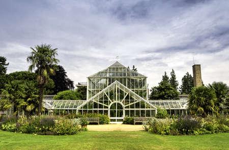 Botanic garden in Cambridge, England Standard-Bild