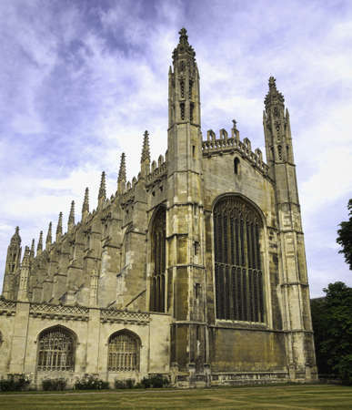 Kings college chapel Cambridge, UK Editorial