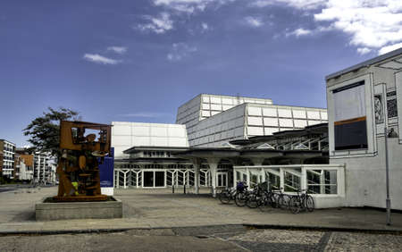 utzon: Esbjerg, Denmark  The Music House designed by the Utzon family