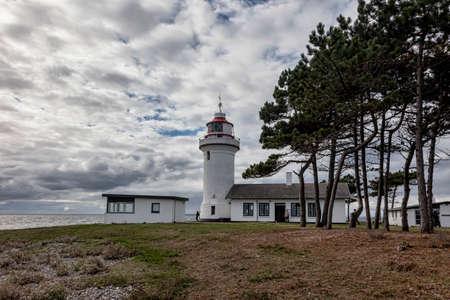 jutland: Sletterhage Lighthouse in Denmark Stock Photo
