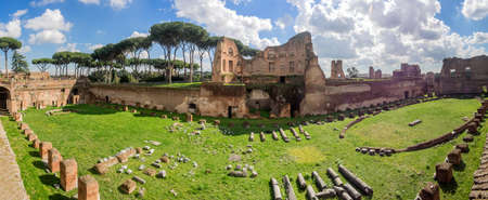 palatine: Hippodrome Stadium of Domitian, Palatine Hill Rome