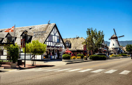 Danish town of Solvang in Santa Ynes, California