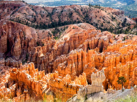 Amphitheater from at Bryce Canyon National Park, Utah, USA photo