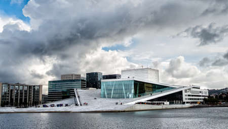 The Royal National Opera House in Oslo, Norway