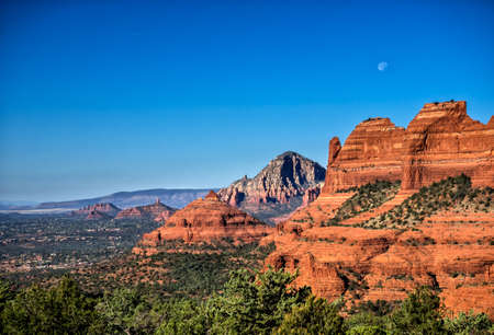 Rock formations at Sedona, Arizona Sedona, Arizona Stock Photo
