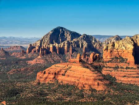 sedona: Rock formations at Sedona, Arizona Sedona, Arizona Stock Photo