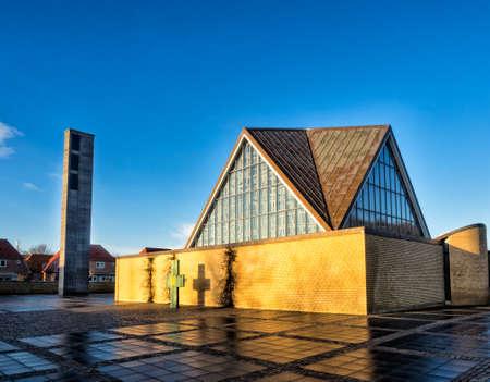 trinity: Holy trinity church in Esbjerg, Denmark