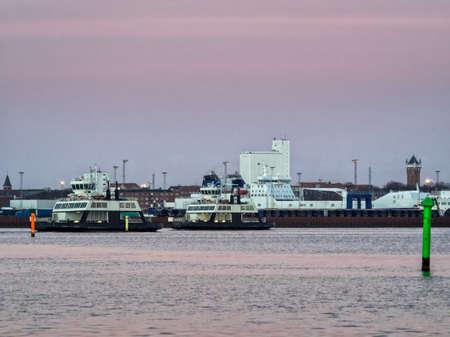 wadden: Ferries from Esbjerg to Fano in the Danish wadden sea