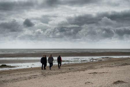 wadden: Wadden sea from Sonderho on Fano in Denmark
