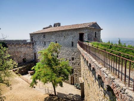 fortezza: Fortezza Girifalco in Cortona, Tuscany Italy