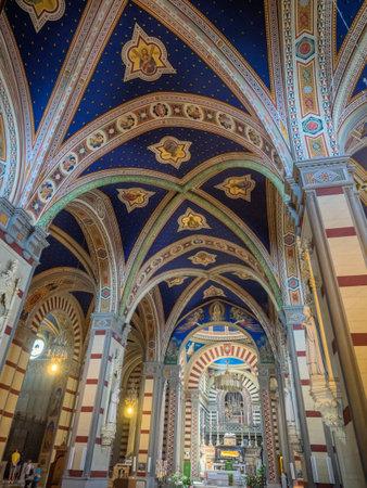margherita: Santa Margherita church on top of Cortona in Tuscany, Italy