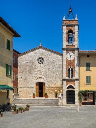 cappella: Chiesa della Madonna di Vitaleta en san Quirico d'Orcia, en Toscana, Italia