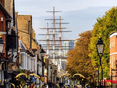 greenwich: Streets in Greenwich Village London, UK