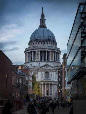 saint pauls cathedral: St Pauls Cathedral in London UK