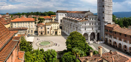 San Martino cathedral in Lucca, Italy