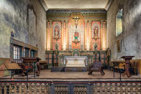 barbara: The historic Santa Barbara Spanish Mission in California, USA Editorial