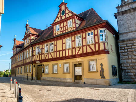 in bavaria: Museum in Marktbreit, Bavaria, Germany Editorial