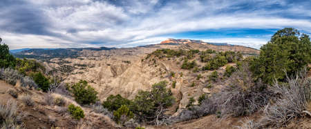 Grand Staircase Escalante National Monument with the river, Utah USA
