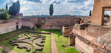 augustus: Palace of Augustus on Palatine hill in Rome, Italy