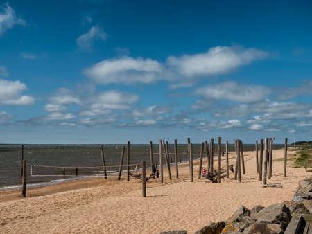 esbjerg: Beach promenade in Hjerting Esbjerg, Jutland Denmark