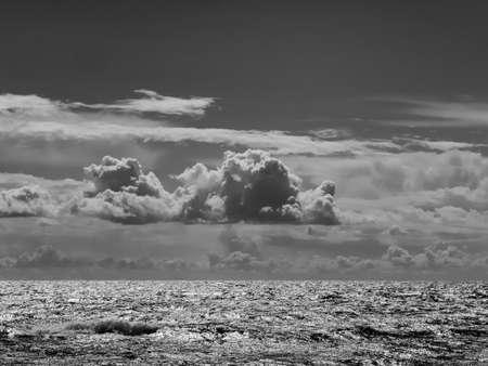 The ocean from Sletterhage beach in Jutland, Denmark
