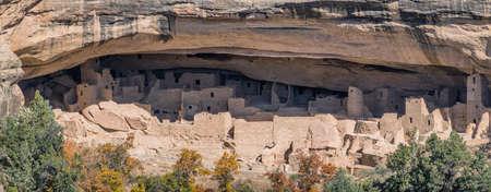 Mesa Verde dwellings in Colorado, USA