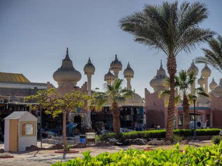 Market with onion domes in Sharm El-Sheikh Sinai, Egypt