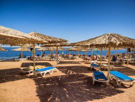 Sharm el-Sheikh beach resort in Sinai, Egypt Stock Photo