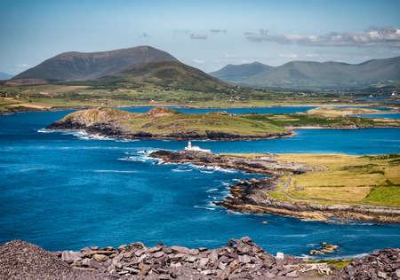 Valentia Island Lighthouse in far Western Ireland