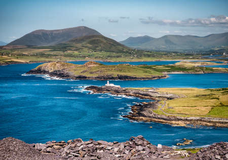 Valentia Island Lighthouse in far Western Ireland