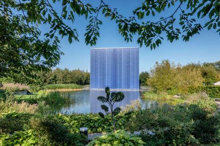 Virtual geyser in Danfoss Universe in Nordborg, Denmark