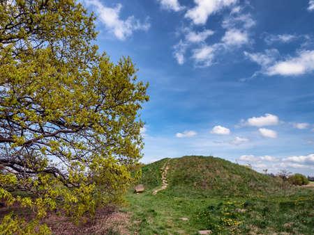 Bronze age Burial mound of Danish Egtved girl