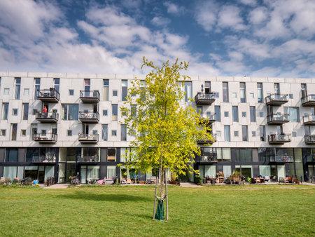 Modern flats in Copenhagen city, Denmark